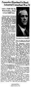 Obituary published in New York Times, Nov 1963