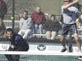Goodspped (net) and Mansager in 2007 Men's Nationals at the New York Athletic Club in Pelham, NY
