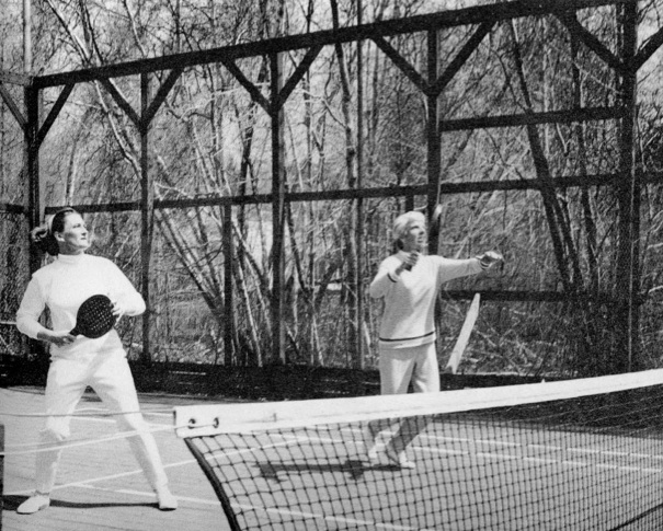Women's Nationals 1967: Peggy Stanton and Charlotte Lee