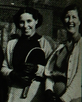 Madge Childress Beck (left) and sister Maizie Childress Moore
